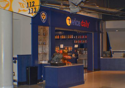 Bridgestone Arena – Twice Daily Shop