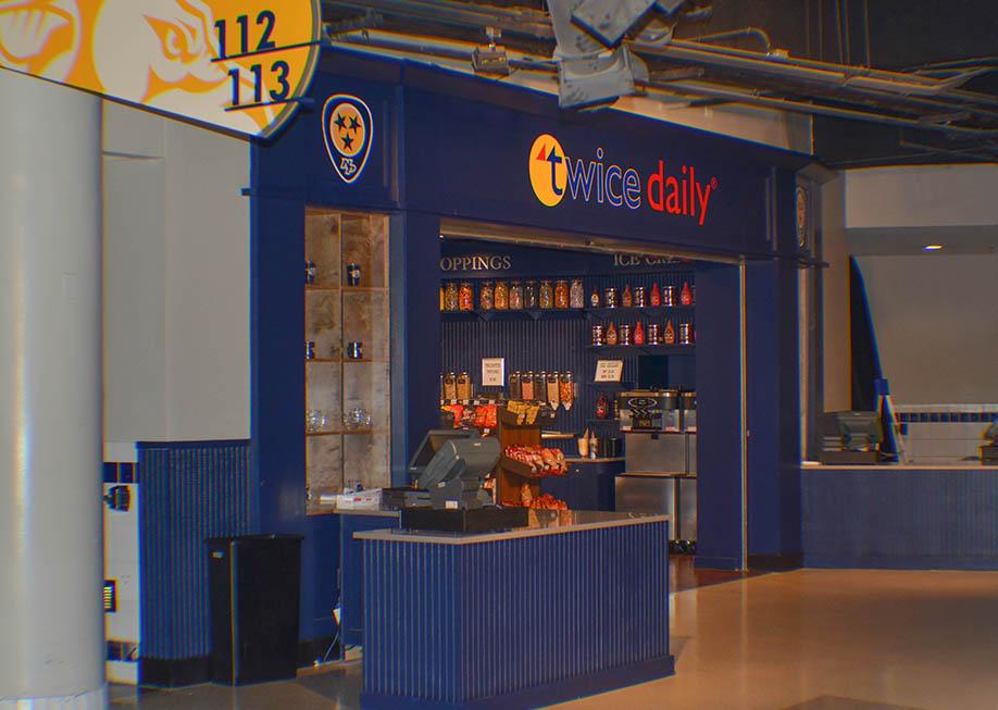 Bridgestone Arena – Twice Daily Shop